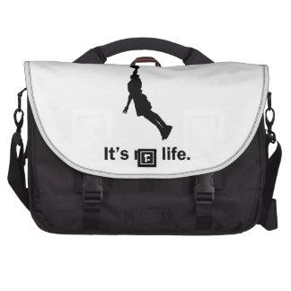 Basketball It's My Life Laptop Computer Bag