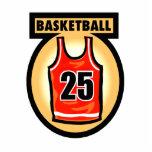 Basketball Jersey & Logo Acrylic Cut Out