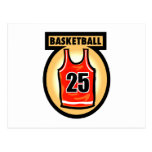 Basketball Jersey & Logo Postcards