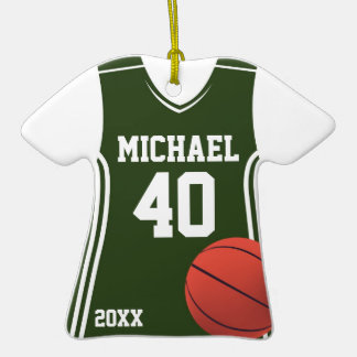 Basketball Jersey Personalized Ornament