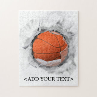 Basketball Jigsaw Puzzle