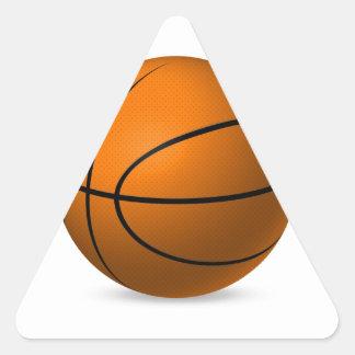 basketball.jpg calcomanía de trianguladas