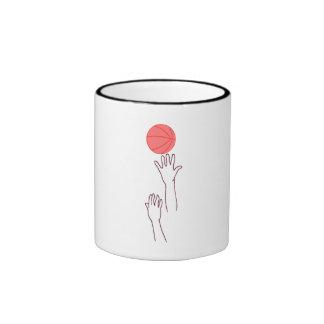 Basketball Jump Ball Coffee Mug