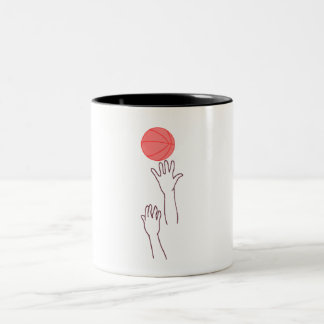 Basketball Jump Ball Mug