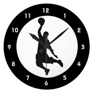 Basketball Jump Design Wall Clock