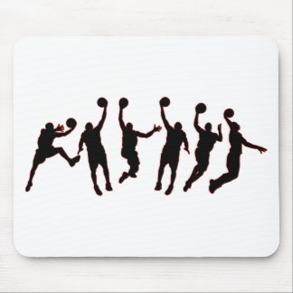 Basketball Jump Mouse Pad