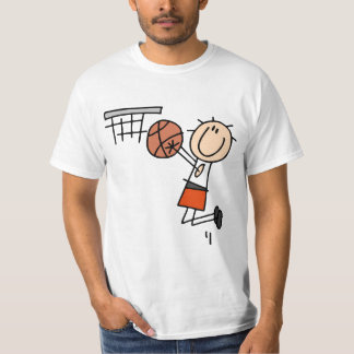Basketball Jump Shot - Orange T-shirts and Gifts
