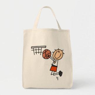 Basketball Jump Shot - Orange T-shirts and Gifts Tote Bag