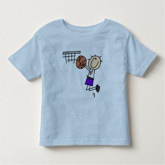 Basketball Jump Shot - Purple Tshirts and Gifts