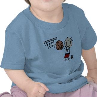 Basketball Jump Shot Red Tshirts and Gifts
