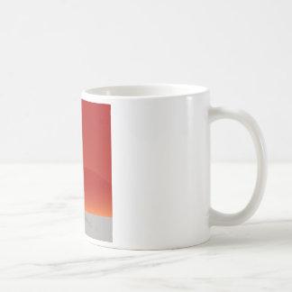 Basketball Jump Shot Silhouette Vector Coffee Mug