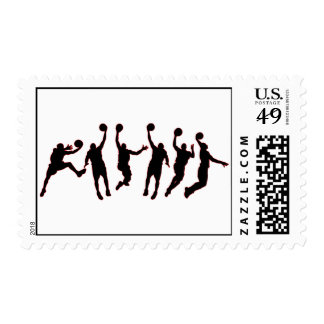 Basketball Jump Stamps