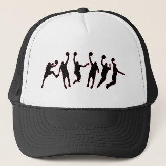 Basketball Jump Trucker Hat
