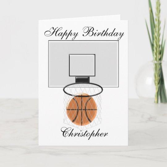 Funny Basketball Birthday Cards