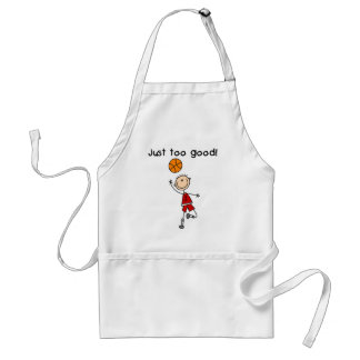 Basketball Just Too Good Tshirts and Gifts Adult Apron