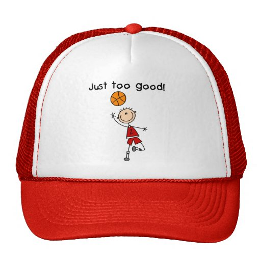 Basketball Just Too Good Tshirts and Gifts Mesh Hat