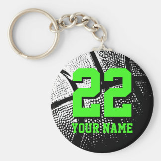 Basketball keychain gift idea for boys and girls