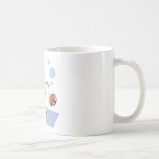 Basketball-Kid Classic White Coffee Mug
