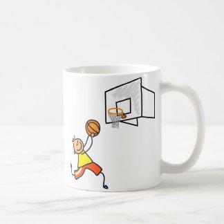 Basketball Kid Classic White Coffee Mug