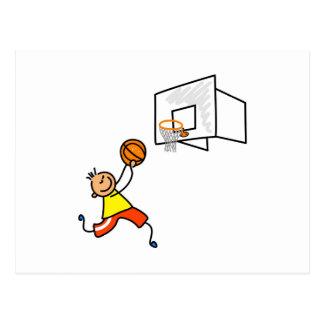 Basketball Kid Postcard