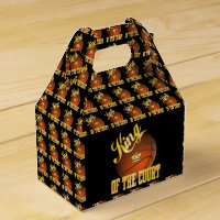 Basketball King of the Court Favor Box