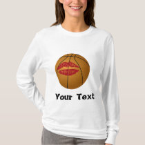 basketball kiss T-Shirt