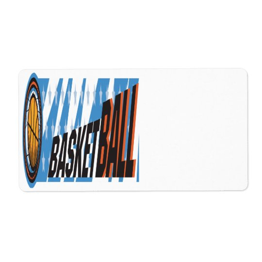 Basketball Label