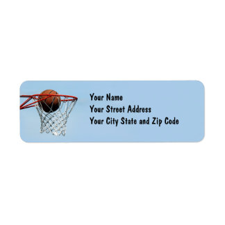 Basketball. Label