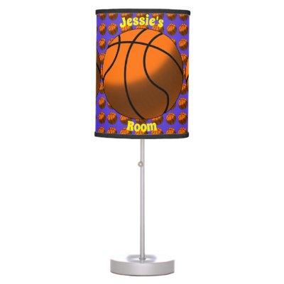 Basketball (Personalizable) Desk Lamp | Zazzle.com