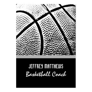Basketball Large Business Cards (Pack Of 100)