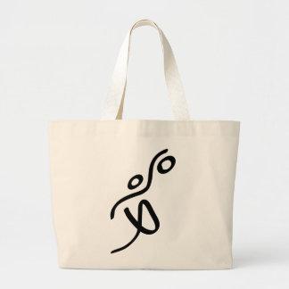 Basketball Large Tote Bag