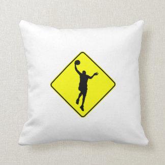 Basketball Layup Crossing Pillows