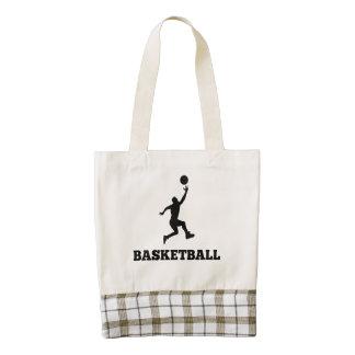 Basketball Layup Zazzle HEART Tote Bag