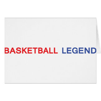 basketball legend icon card