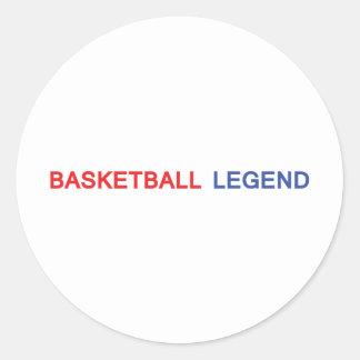 basketball legend icon sticker
