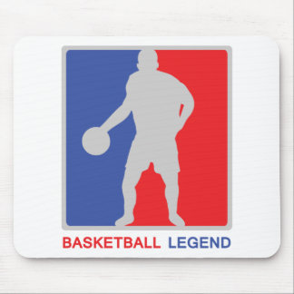basketball legend mouse pads