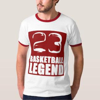 Basketball Legend Retro Shirt red