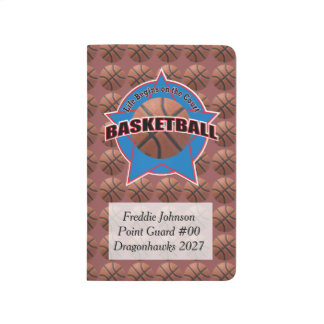 Basketball Life Begins on the Court with Name Journal