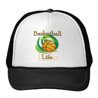 Basketball Life T-shirts and Gifts Trucker Hat