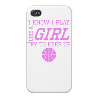 Basketball Like A Girl Cases For iPhone 4