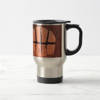 Basketball Lino Art Print by Shoots McHoop Coffee Mug