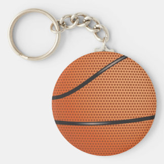 Basketball Look gifts for fans Basic Round Button Keychain