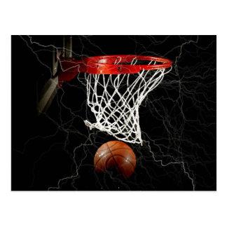 Basketball Love Action Motivation Postcard