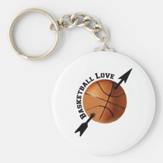 Basketball Love Keychain