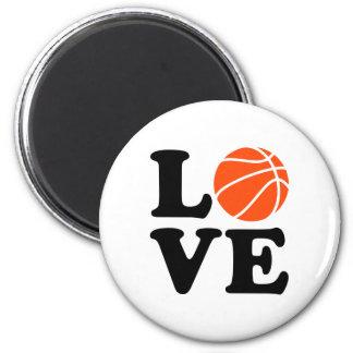 Basketball love magnet
