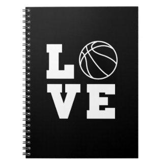 Basketball Love Spiral Notebook