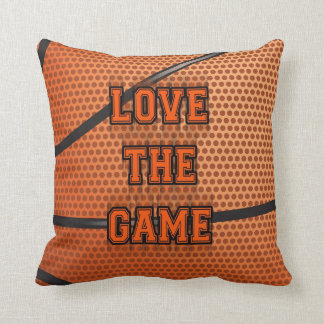 Basketball Love the Game Pillow