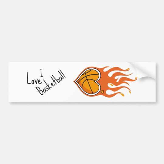 Basketball Lover bumper sticker