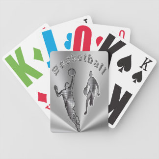Basketball Low Vision Playing Cards - HUGE  Print