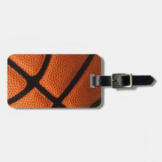 Basketball Luggage Tag